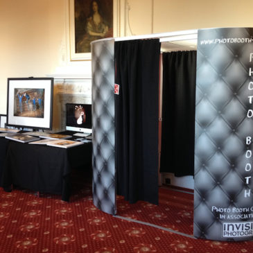 Photo Booth at Madingley Hall Wedding Fair