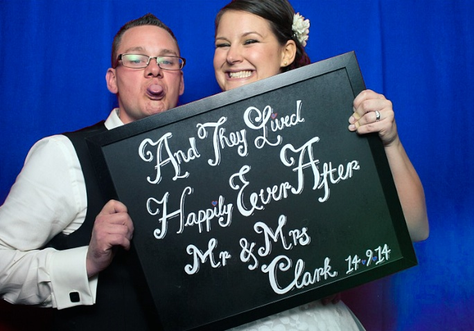 Cambridge Wedding Picture Booth