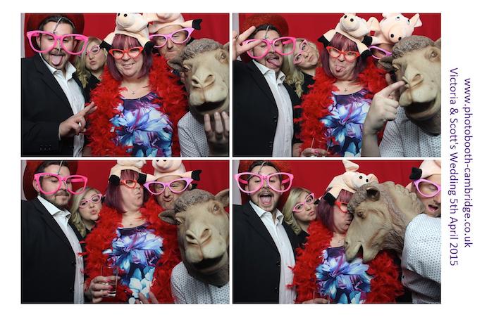 Anstey Hall Wedding Photo Booth