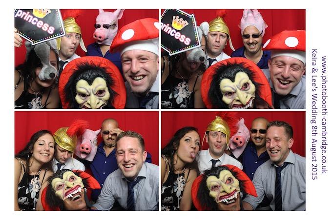 Photo Booth Longstowe Hall 13