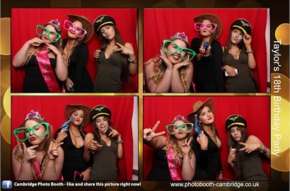 18th Birthday Party Photo Booth
