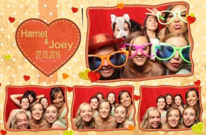 Harriet & Joey's Wedding Photo Booth