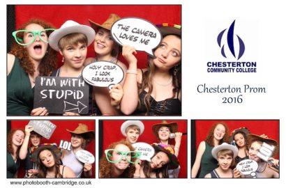 Chesterton Village College Prom Photo Booth