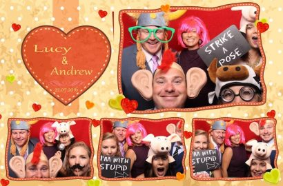 Photo Booth at Longstowe Hall