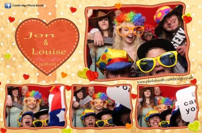 Photo Booth at Bassmead Manor Barn