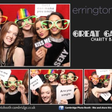 Cambridge Young Professionals Ball Photo Booth