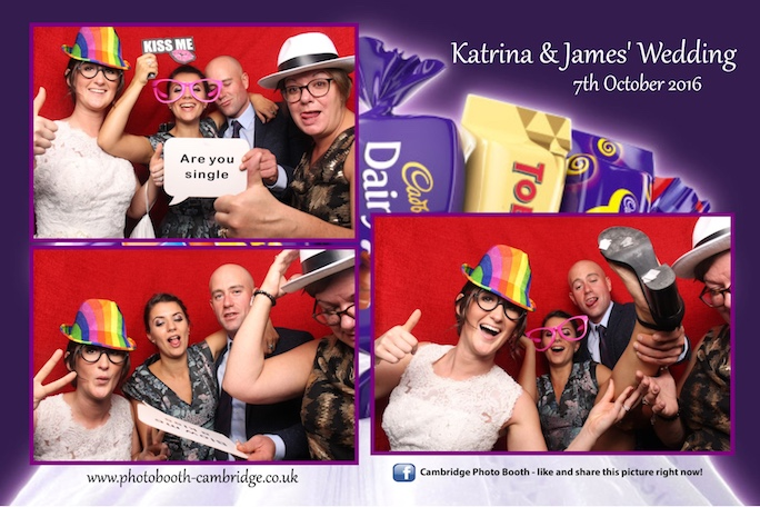 Parklands Quendon Hall Wedding Photo Booth