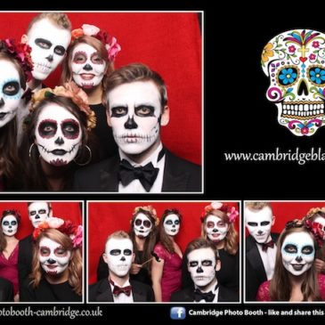 Cambridge Halloween Black Tie Photo Booth