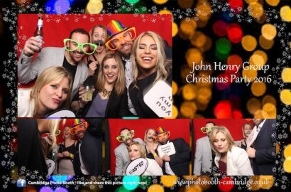 Hidden Rooms Christmas Party Photo Booth