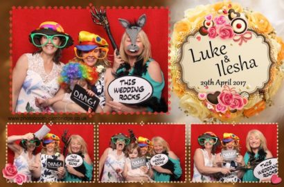 Old Hall Ely Photo Booth for Luke & Ilesha