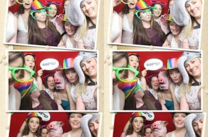 Photo Booth Cambridge at the Cambridge Belfry Hotel