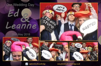 Bourn Golf Club Wedding Photo Booth