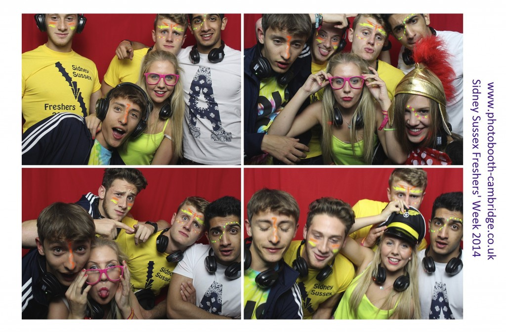 Sidney Sussex Photo Booth