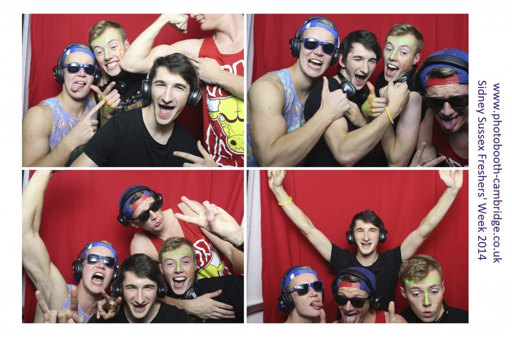 Sidney Sussex College Photo Booth