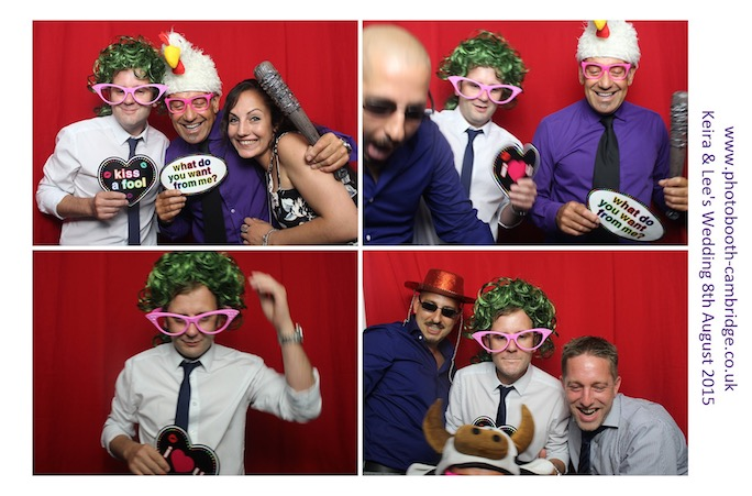 Photo Booth Longstowe Hall 12
