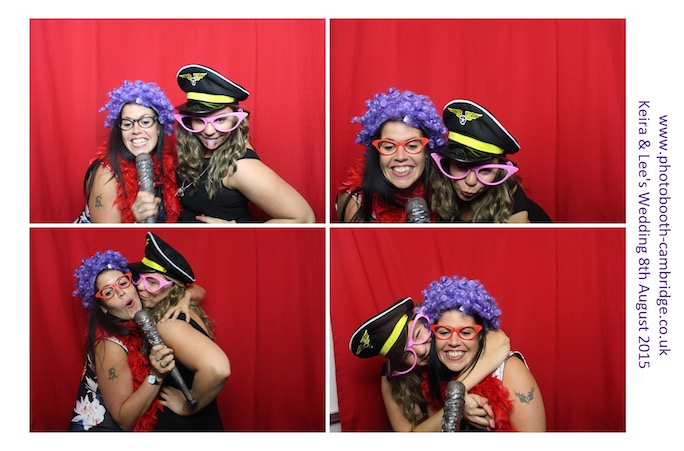 Photo Booth Longstowe Hall 14