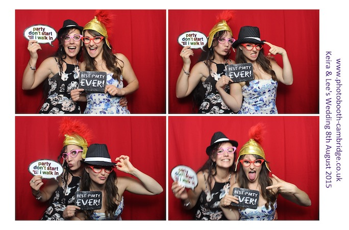 Photo Booth Longstowe Hall 17