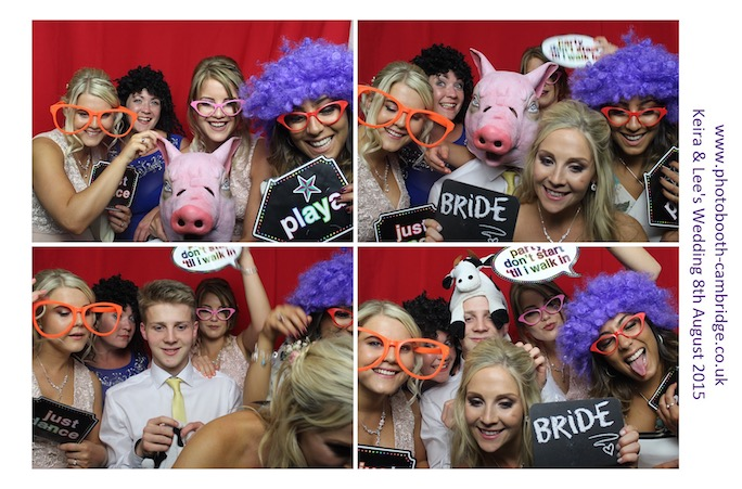 Photo Booth Longstowe Hall 38