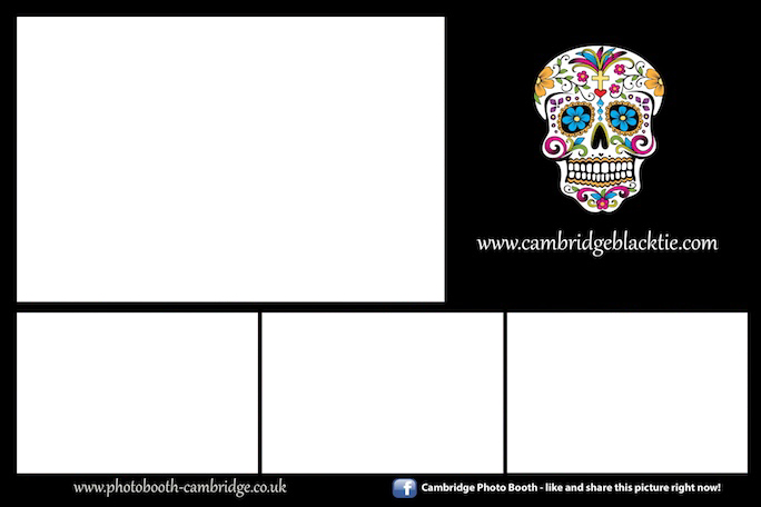 Photo Booth Cambridge Halloween Template