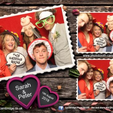 Madingley Hall Wedding Photo Booth