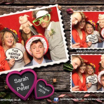 Madingley Hall Wedding Photo Booth